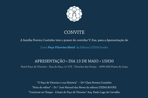 """Lançamento """"Paço Vitorino Hotel"""""""